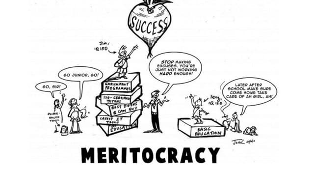"""Society Trivia Question: Which person coined the term """"meritocracy""""?"""