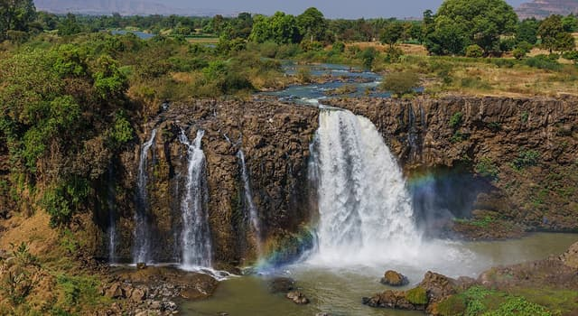 Geography Trivia Question: Which river is the right tributary of the Nile?