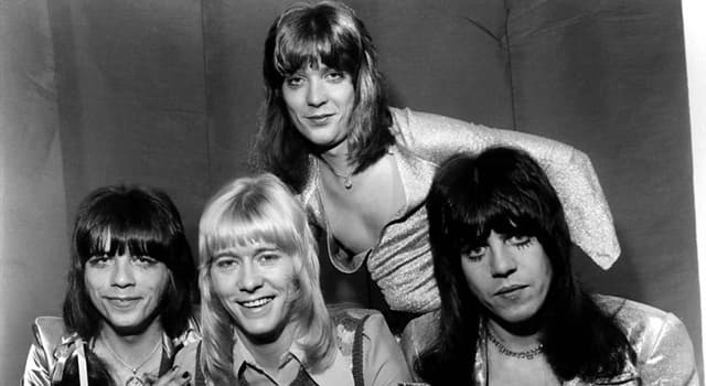 Culture Trivia Question: Which song was the glam rock band Sweet's only UK number one?