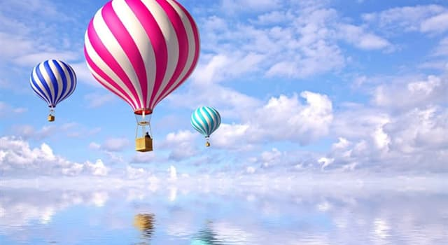 History Trivia Question: Which was used by Montgolfier brothers to launch the first piloted ascent of an air balloon?
