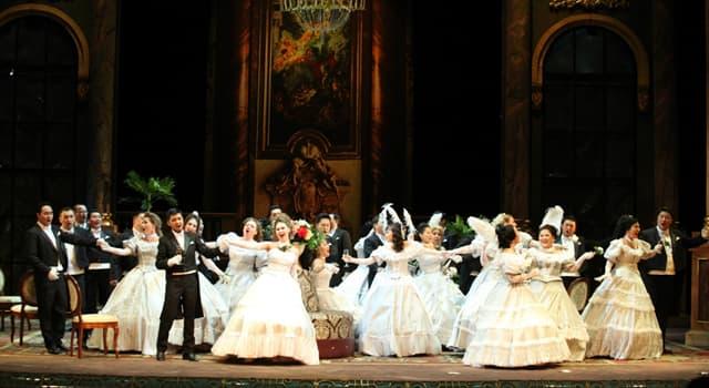 """Culture Trivia Question: Who composed """"La traviata""""?"""