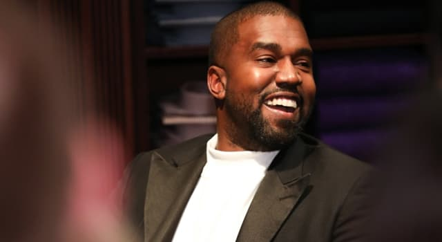 Society Trivia Question: Who has Kanye West been married to since 2014?