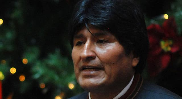 Society Trivia Question: Who is Evo Morales?
