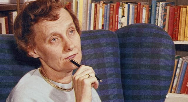 Culture Trivia Question: Who is the author pictured below?