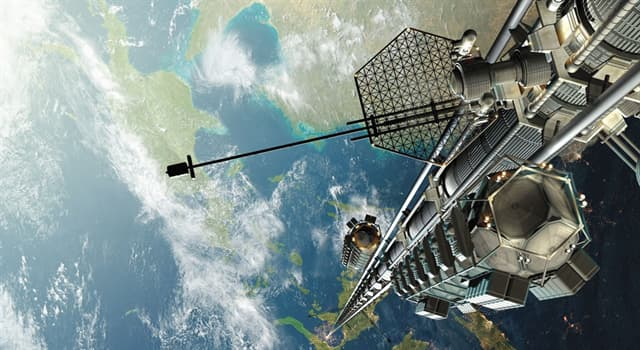 Science Trivia Question: Who was the first to propose the concept of a tower reaching geosynchronous orbit?