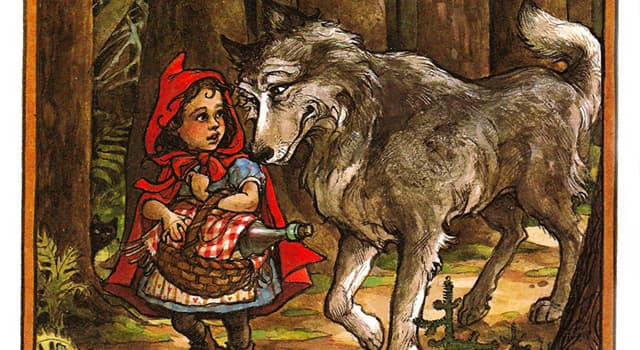 """Culture Trivia Question: Who wrote the first tale of """"Little Red Riding Hood""""?"""