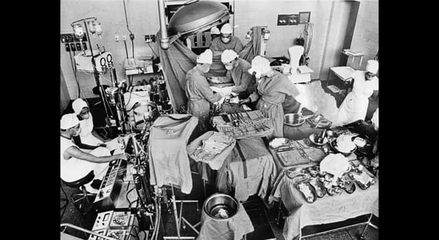 History Trivia Question: At which hospital did the first human-to-human heart transplant take place?