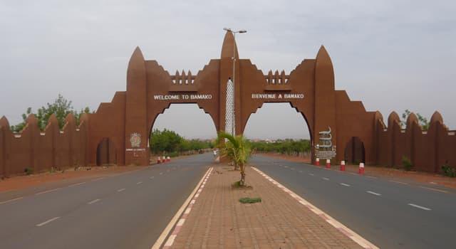 Географія Запитання-цікавинка: Яке місто є столицею Малі?