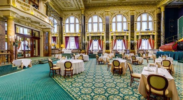 Культура Запитання-цікавинка: Що з перерахованого - назва декількох знаменитих ресторанів в Москві XIX - початку XX століття?
