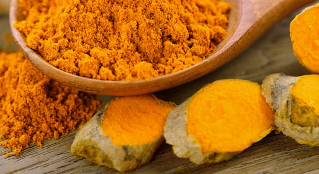 Nature Trivia Question: Commonly known for its ayurvedic health benefits, what is this spice called?