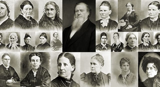 History Trivia Question: How many wives did Brigham Young have?