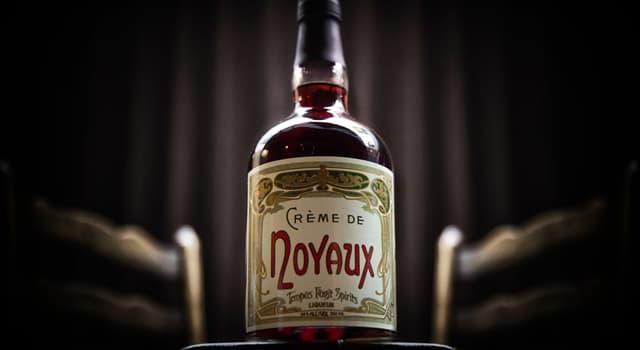 Culture Trivia Question: In mixology, what is Crème de Noyaux?