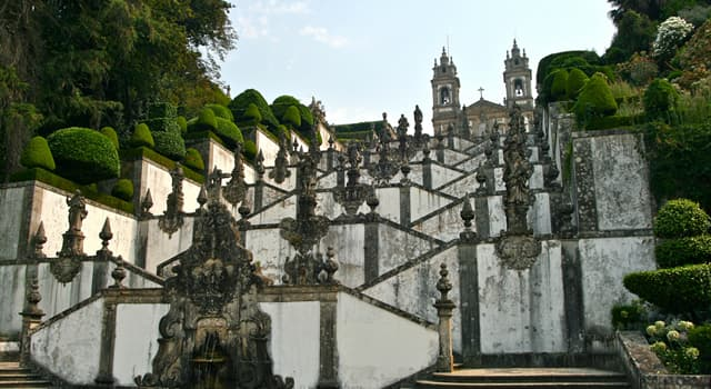 Culture Trivia Question: In which country is Bom Jesus do Monte located?