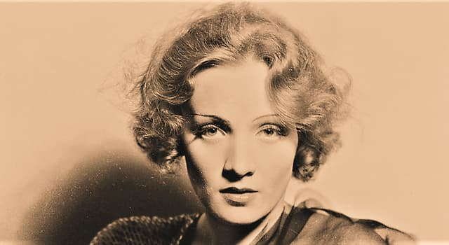 """Movies & TV Trivia Question: In which film did Marlene Dietrich tell a cop to """"lay off those candy bars""""?"""