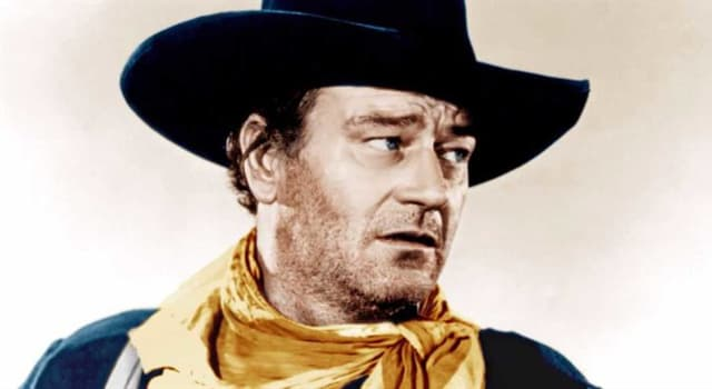 Movies & TV Trivia Question: In which film does John Wayne play Davy Crockett, a hero and adventurer born in Tennessee?