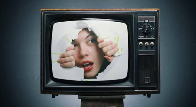 History Trivia Question: In which year was the world's first color TV transmission demonstrated?