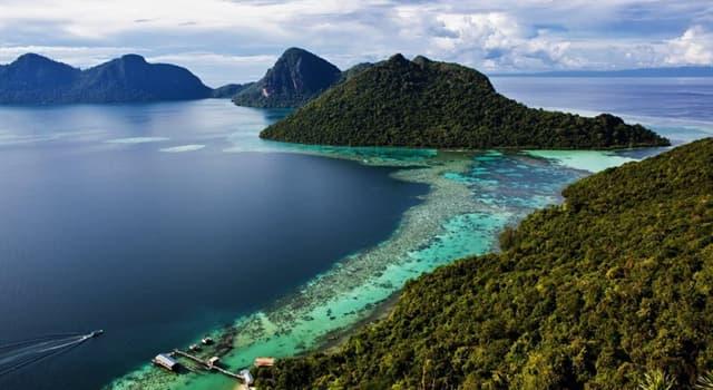 Географія Запитання-цікавинка: Яке за величиною місце в світі займає острів Калімантан?