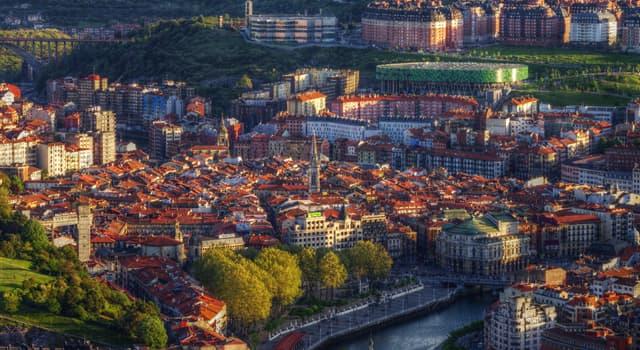 Географія Запитання-цікавинка: Яке місто є найбільшим містом автономного співтовариства Країна Басків?