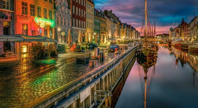 Географія Запитання-цікавинка: Яке місто є столицею Данії?