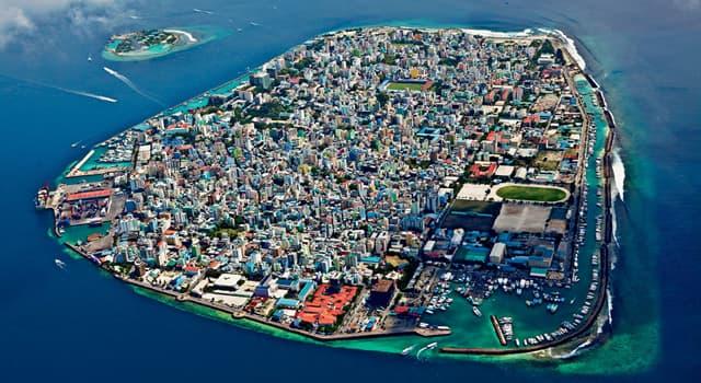 Географія Запитання-цікавинка: Яке місто є столицею Мальдівської Республіки?