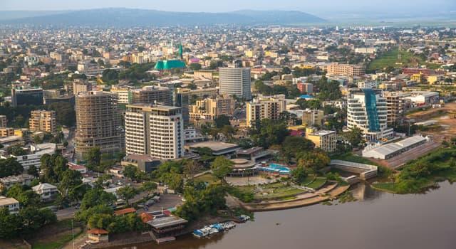 Geografia Pytanie-Ciekawostka: Co jest stolicą Konga?