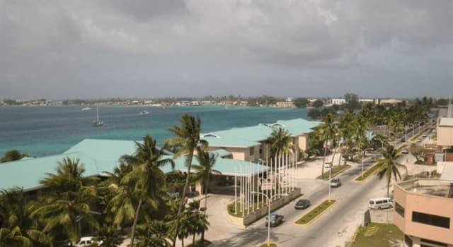Географія Запитання-цікавинка: Яке місто є столицею Республіки Маршаллові Острови?