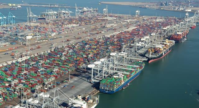 Географія Запитання-цікавинка: Який порт Нідерландів є найбільшим в країні, а також в Європі?
