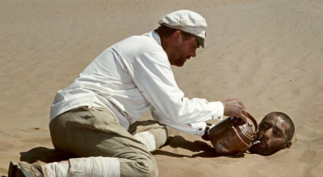 """Фільми та серіали Запитання-цікавинка: Хто грав роль Федора Сухова у фільмі """"Біле сонце пустелі""""?"""