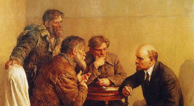 """Культура Запитання-цікавинка: Хто є автором картини """"Ходаки у В. І. Леніна""""?"""