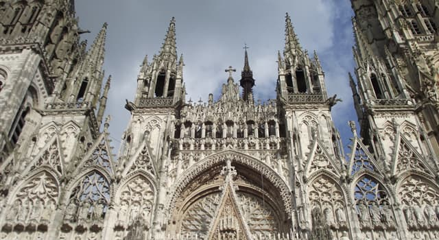 Culture Trivia Question: Rouen Cathedral is located in which country?