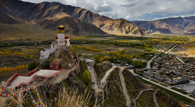 History Trivia Question: Since when did Tibet become a part of China?