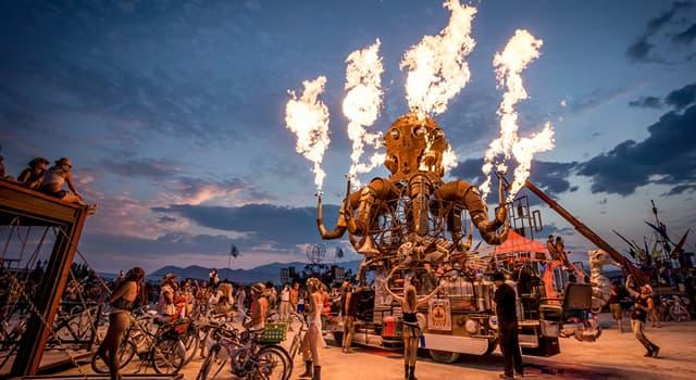 Культура Запитання-цікавинка: В якій пустині щорічно проходить фестиваль «Burning Man»?