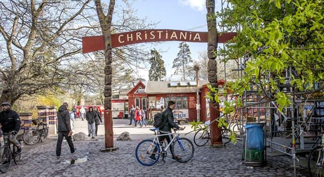 Історія Запитання-цікавинка: В якому році виникла Христиания на території Копенгагена?