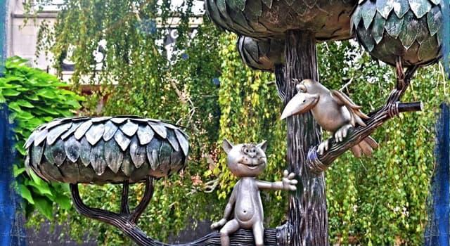 Культура Запитання-цікавинка: В якому місті знаходиться пам'ятник кошеняті з вулиці Лизюкова?