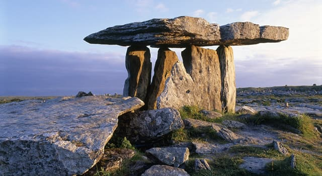 History Trivia Question: Which of these is a large stone used to construct a structure or monument during the Neolithic period?
