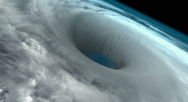 Nature Trivia Question: What is a region of mostly calm weather at the center of strong tropical cyclones called?
