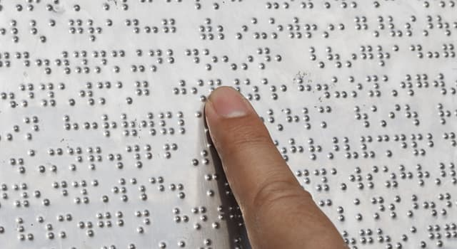 Science Trivia Question: What is the tactile writing system used by people who are visually impaired?