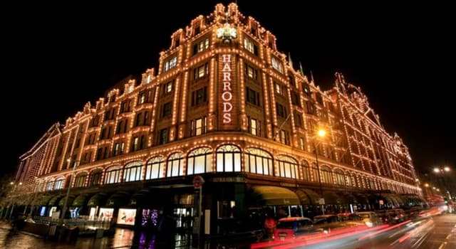 Culture Trivia Question: When did Harrods Department Store open in London?