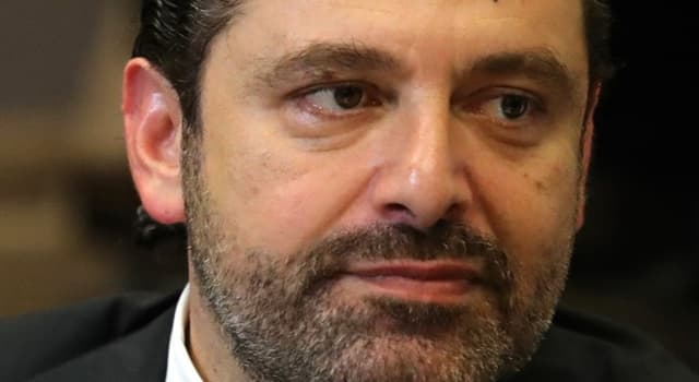 Society Trivia Question: When did Lebanon's Prime Minister 'Saad Hariri' resign?