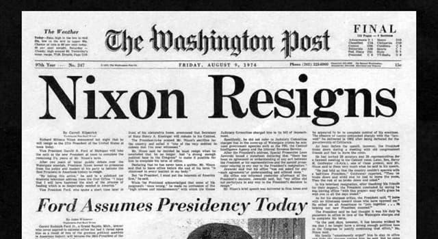 History Trivia Question: When did the newspaper the 'Washington Post' originate?