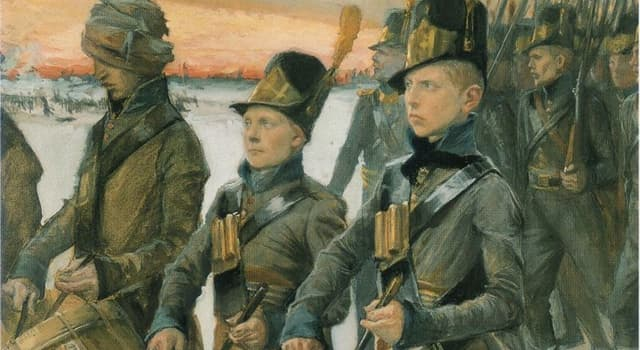 History Trivia Question: When was the Finnish War fought?