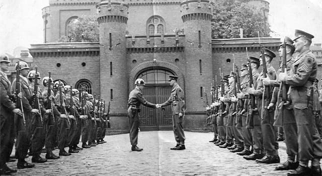 Geography Trivia Question: Where was Spandau Prison located?