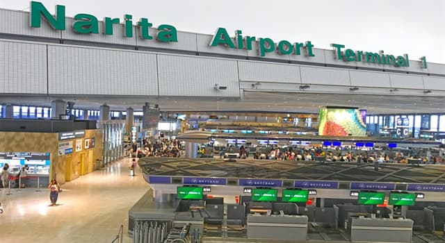 Geography Trivia Question: Which city does Narita International Airport serve?
