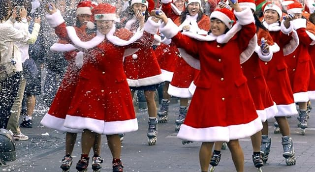 Culture Trivia Question: Which city has a Christmas tradition of roller-skating to religious services?