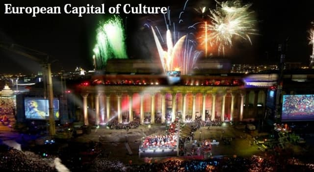 Culture Trivia Question: Which city was the first to be selected as the European Capital of Culture?