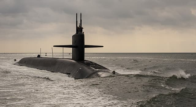 Society Trivia Question: Which class of USN nuclear submarine does the USS Maryland (SSBN-738) belong to?