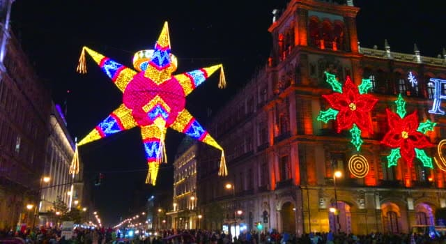 Culture Trivia Question: Which country celebrates Christmas with posadas and piñatas?