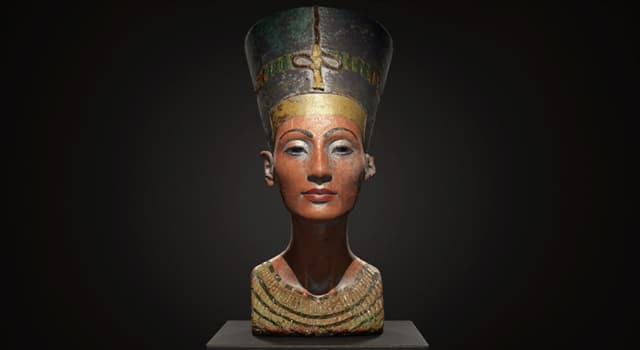 History Trivia Question: Which German Egyptologist is best known for finding a famous bust of Nefertiti at Amarna?