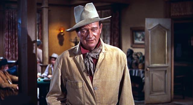 Movies & TV Trivia Question: Which film made John Wayne an instant mainstream star?