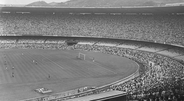 Sport Trivia Question: Which football stadium holds the record for the largest crowd ever to see a football match?